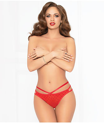 Seven 'til Midnight Heart Strappy G-String