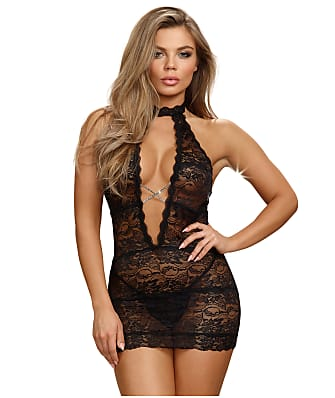 Dreamgirl High Neck Chemise
