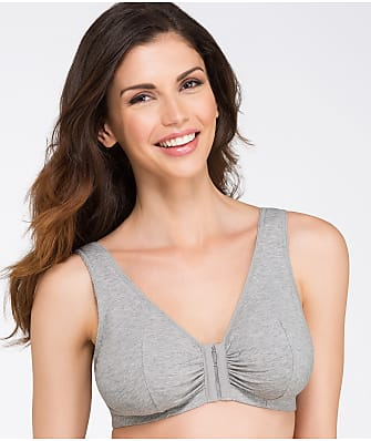 Leading Lady Front-Close Cotton Wire-Free Bra
