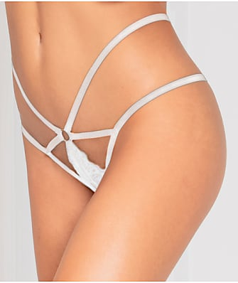 Seven 'til Midnight Lace Crotchless Panty