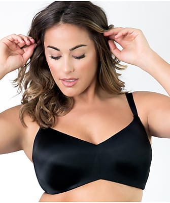 Curvy Couture Flawless Side Smoother Wire-Free T-Shirt Bra