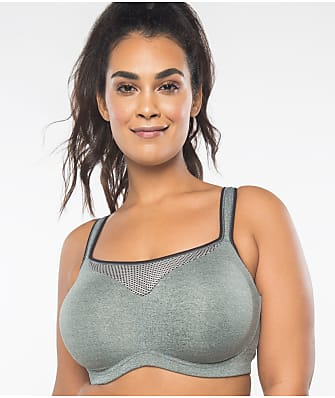 Curvy Couture Ultimate Fit High Impact Underwire Sports Bra