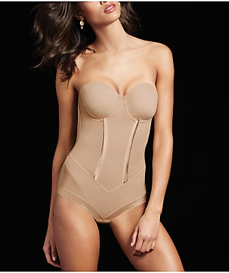 Maidenform Flexees Easy-up Firm Control Bodysuit