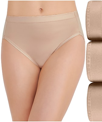 Vanity Fair Comfort Where It Counts Hi-Cut Brief 3-Pack