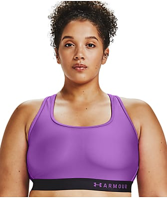 Under Armour Plus Size Mid Impact Crossback Wire-Free Sports Bra