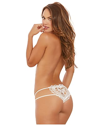 Dreamgirl Heart Crotchless Thong