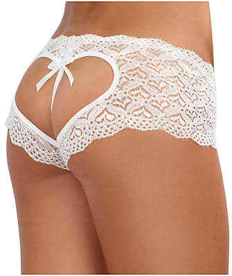 da01f01a91 Dreamgirl Sweetheart Crotchless Boyshort