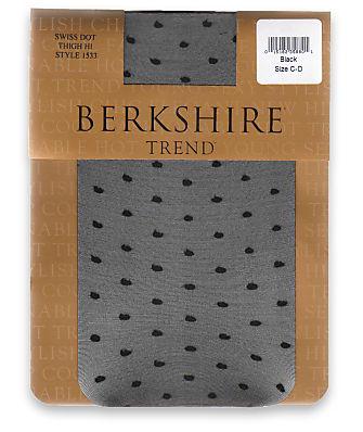 Berkshire Swiss Dot Thigh Highs