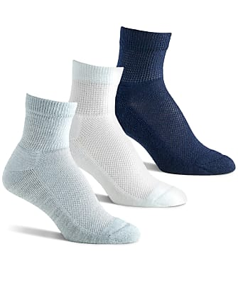 Berkshire Diabetic Quarter Socks 3-Pack