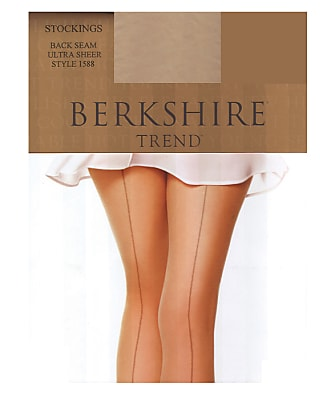 Berkshire Trend Ultra Sheer Back Seam Stockings