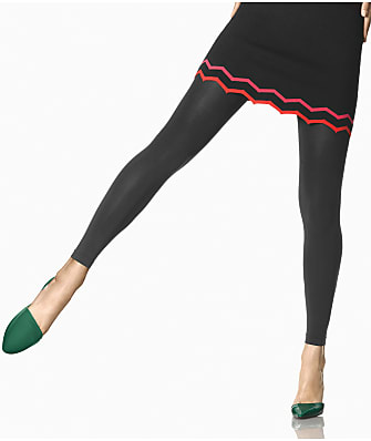 HUE Super Opaque Footless Tights