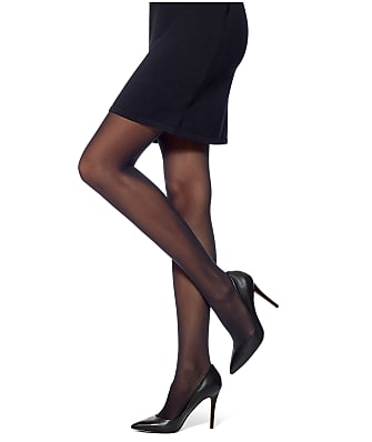 HUE Flat-tering Fit Opaque Control Top Tights