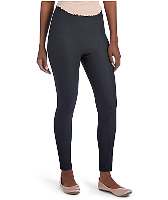 HUE High-Waist Denim Shaping Leggings