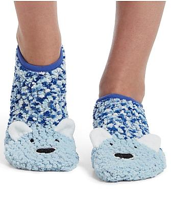 HUE Cozy Critter Slipper Socks