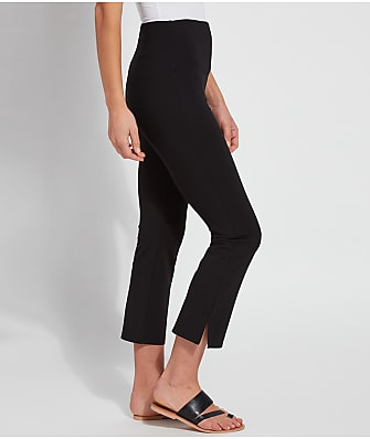 Lyssé Medium Control Cropped Kick Flare Ponte Pants