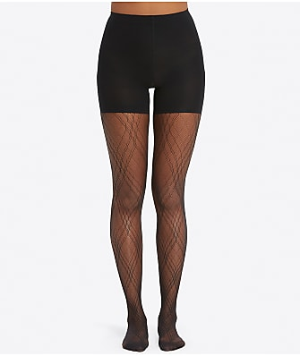 SPANX Plaid Lace Shaping Tights