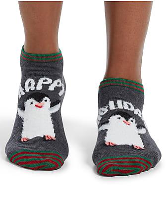HUE Happy Holidays Low-Cut Socks