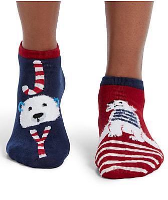 HUE Polar Bear Joy Low-Cut Socks
