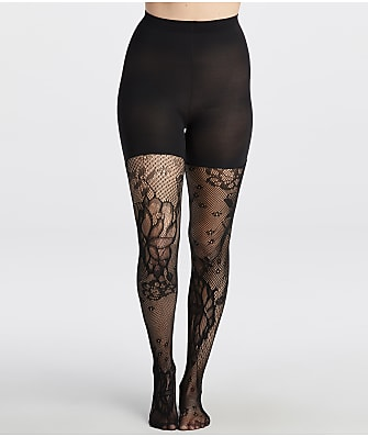 SPANX Fishnet Floral Lace Shaping Tights