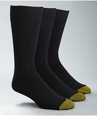 Gold Toe Hampton Crew Dress Socks 3-Pack