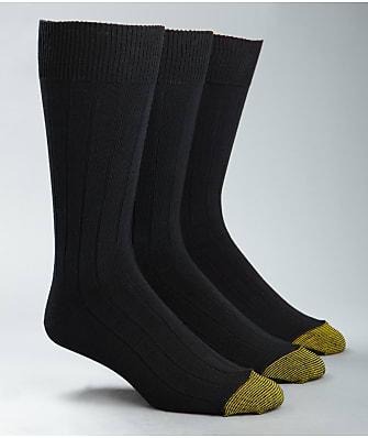 Gold Toe Hampton Crew Dress Socks 3-Pack