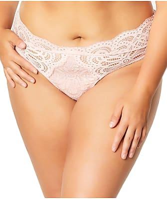 Oh La La Cheri Plus Size Real Lingerie Bohemian Lace Thong
