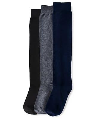 HUE Flat Knit Knee High Socks 3-Pack