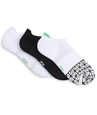 HUE Eco Sport Tab Back No Show Socks 3-Pack