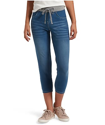 HUE Sweatshirt Denim Capri Leggings