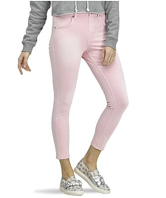 HUE Denim High-Waist Skimmer Pants