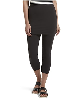 HUE Play Ultra-Soft Cotton Skirted Capris