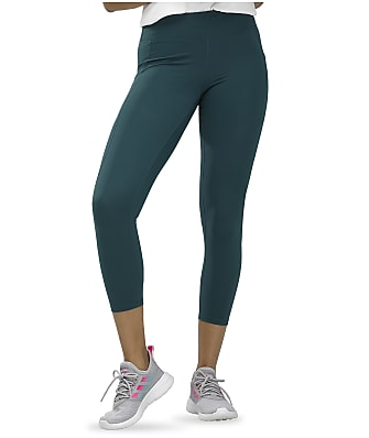 HUE Active Pep Talking Capri Leggings
