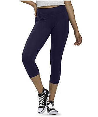HUE Active Cool Breeze Capri Leggings
