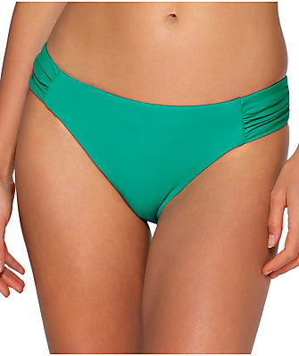 Sunsets Viridian Femme Fatele Bikini Bottom