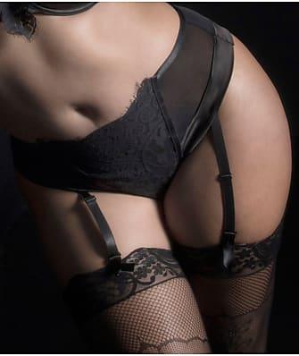 Oh La La Cheri Kaviar Lingerie Plus Size Louise Dramatic Lace Thong