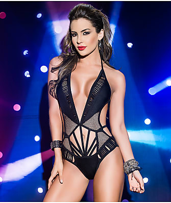 Mapalé Netted Cut-Out Wireless Teddy