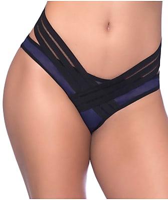 Oh La La Cheri Mesh & Elastic Decor Bikini