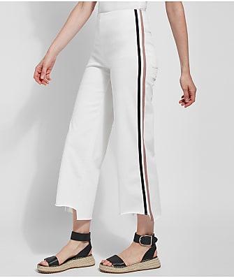 Lyssé Medium Control Emilia Wide Leg Cropped  Denim Pants