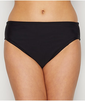 24th & Ocean Solid Mid-Rise Bikini Bottom