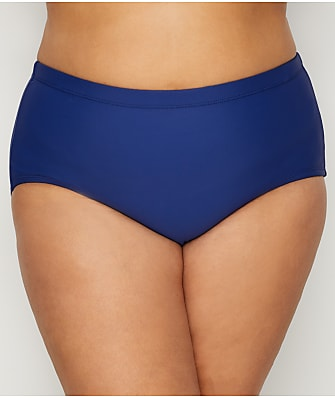 24th & Ocean Plus Size Solid Bikini Bottom