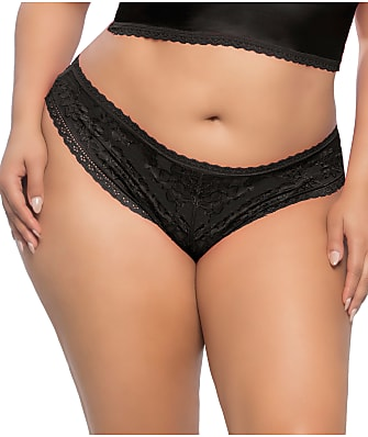 Real Lingerie Plus Size Yvette Lace Boyshort