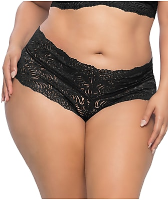 Real Lingerie Plus Size Odette Lace Boyshort