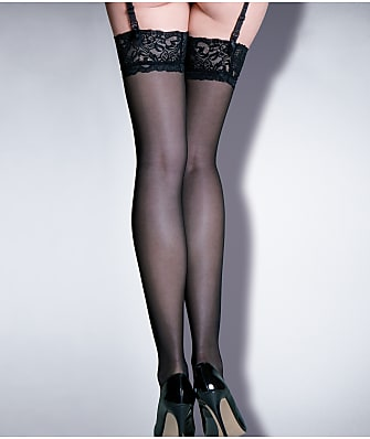 Pour Moi Alllure Lace Top Thigh High Stockings