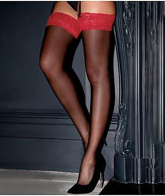 Pour Moi Alllure Lace Top Stockings