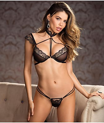Shirley of Hollywood Lave Strappy Bra & Panty Set