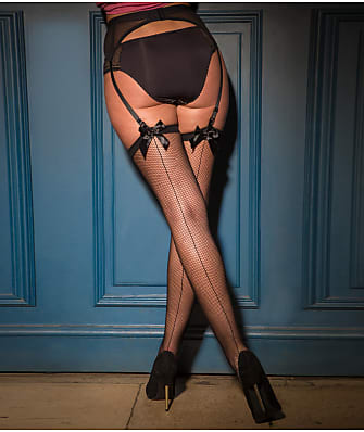 Pour Moi All Wrapped Up Back Seam Stockings