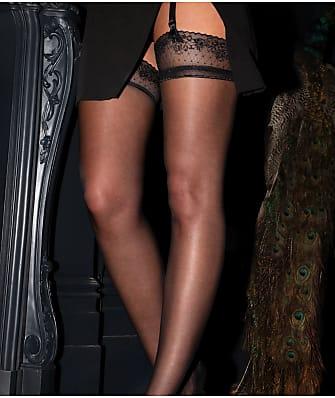 Pour Moi Sensation Lace Top Thigh High Stockings