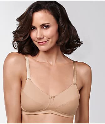 Amoena Ruth Wire-Free Cotton Comfort Bra