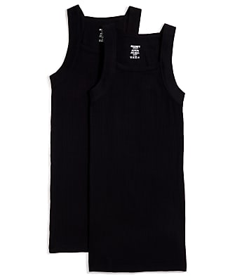 2(x)ist Cotton Essential Square Cut Tank 2-Pack