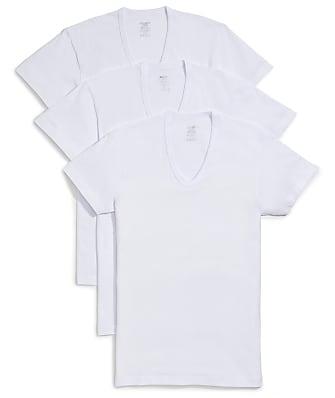 2(x)ist Cotton Essential Slim Fit V-Neck T-Shirt 3-Pack